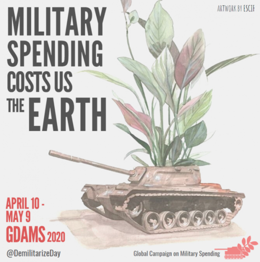 Military spending costs us the earth.