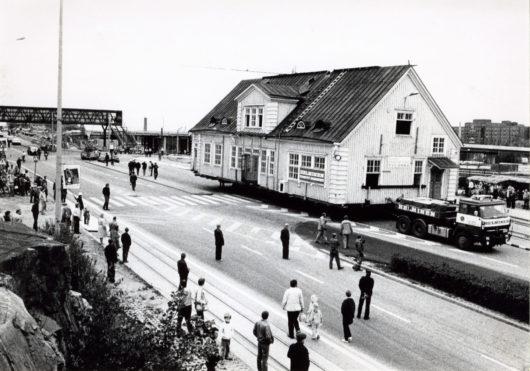 Rauhanasemaa siirretään kokonaisena Itä-Pasilan Veturitorille.