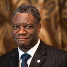 Rauhannobelisti Denis Mukwege