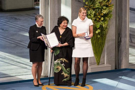 Vuoden 2017 Nobelin rauhanpalkinto luovutetaan ydinaseiden vastaiselle ICAN-verkostolle
