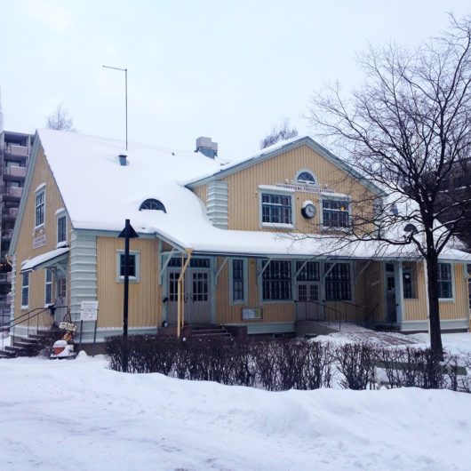 Rauhanasema talvella