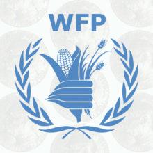 Nobelin rauhanpalkinto ja Maailman ruokaohjelman logo.