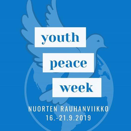 Youth Peace Week - Nuorten rauhanviikko 2019