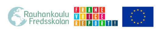 Rauhankoulun FVR-hankkeen logot